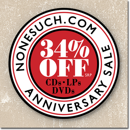 Take 34 Off Cds Lps Dvds In The Nonesuch Store Fifth